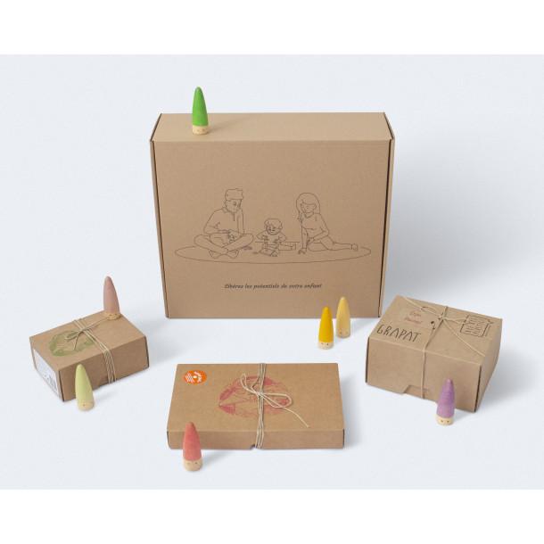 Box jeux libres - Personnages