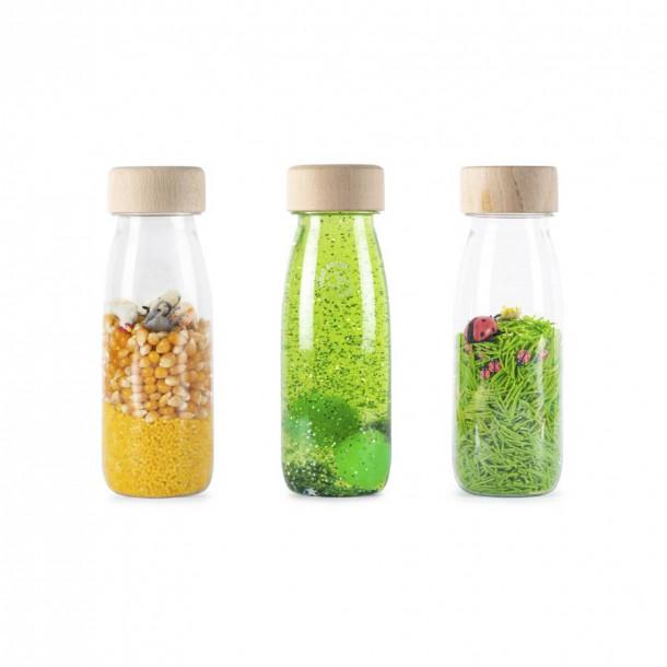 Set de 3 bouteilles sensorielles - Life
