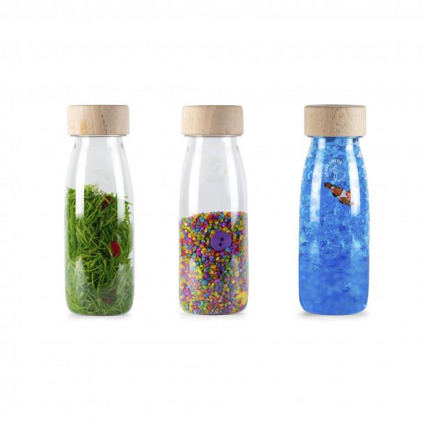 Set de 3 bouteilles sensorielles - Eco