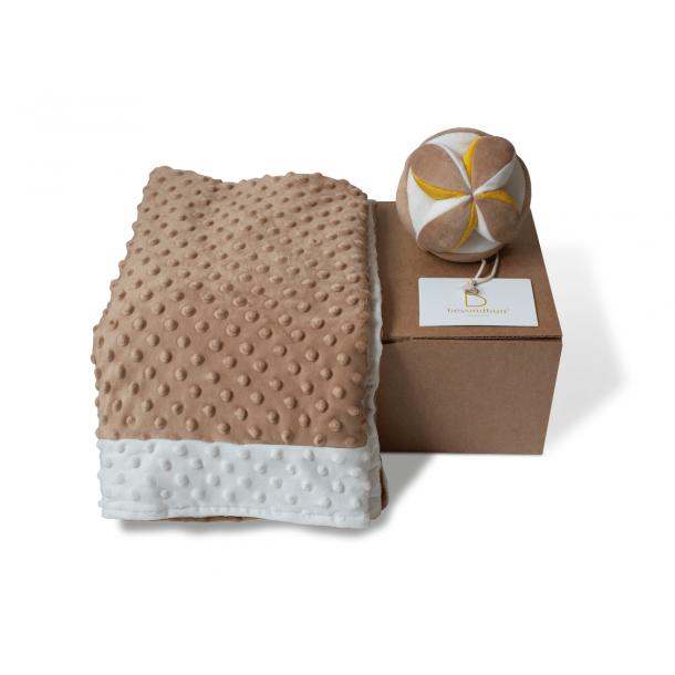 Box sensorielle bébé - nougat